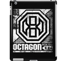 Octagon MMA Press Logo iPad Case/Skin