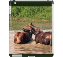 OH, YEAH...A LITTLE TO THE LEFT!... products iPad Case/Skin