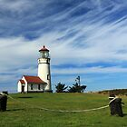 Cape Blanco Lighthouse Above The Rope by James Eddy