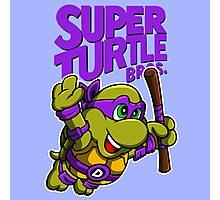 Super Turtle Bros - Donnie Photographic Print