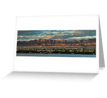 Sunset Over Havasu Greeting Card