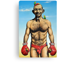 """The Budgie Smuggler"" Canvas Print"