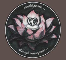 World Peace, Through Inner Peace by brendonart