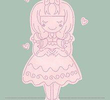 Stitch Princess by BluescreenQueen