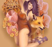Foxy lady by Mokopea