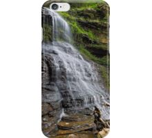 Cathedral Falls at Gauley Bridge iPhone Case/Skin