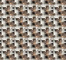 Battery Mishler Power Hoist lower section pattern by Dawna Morton