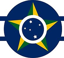 World War II Roundel of Brazilian Air Force  by abbeyz71
