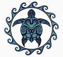 Tribal Turtle by BailoutIsland