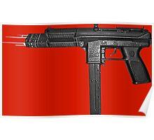 Chiraq City Gun Poster