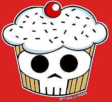 SKULL CUPPYCAKE!! by offworldimages