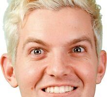 Dillon Francis Face [Blonde] by eugenewhatup