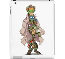 Turtles in a Trenchcoat iPad Case/Skin