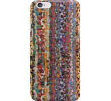 Patchwork rug iPhone Case/Skin