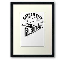 Gotham City Rogues Framed Print