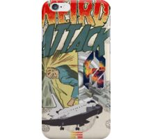 Weird Attack. iPhone Case/Skin