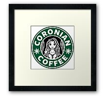 Coronian Coffee Framed Print