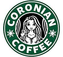 Coronian Coffee Photographic Print