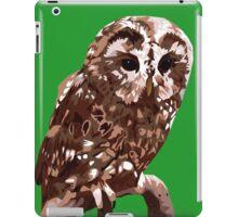 Tawny Owl Illustration iPad Case/Skin