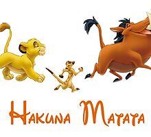 Hakuna Matata by mickeymoo