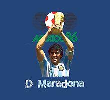 Maradona by refreshdesign