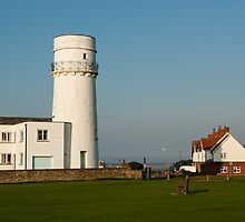 Hunstanton Lighthouse, Norfolk, UK by John Edwards