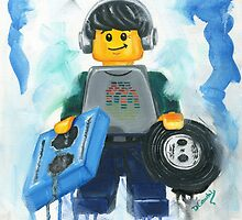 Lego Dj. by Deborah Cauchi
