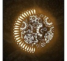 Sun & Moon by jaimeeannd
