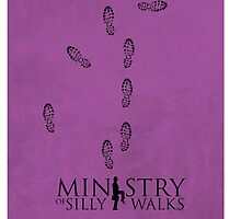 Ministry of Silly Walks by Gcronauer