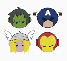 Avengers Cartoon by rasgadow