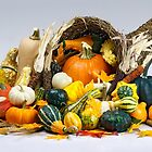 Cornucopia of Thanksgiving by Kenneth Keifer