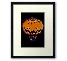 Cutie Pumpkin Pie Framed Print