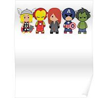 Little Avengers Cartoon Poster