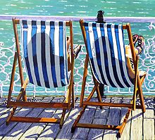 Seaside Shadows by Paula Oakley