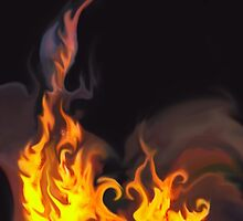 FIRENADO (Flames) by leethompson