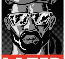 Major Lazer t shirt poster by kalakta