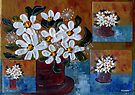 Daisies are like sunshine by Elizabeth Kendall