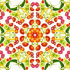 Kaleidoscope Salad by Andrew Bret Wallis