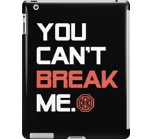 Octagon MMA You Can't Break Me iPad Case/Skin