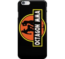 Octagon MMA Jurassic Fighting iPhone Case/Skin