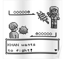 Khan Wants to Fight! Poster