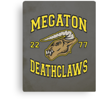 Megaton Deathclaws Canvas Print