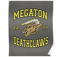 Megaton Deathclaws Poster