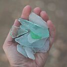 Beach Glass Finds by Bethany Helzer