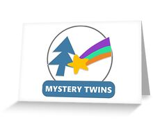 Mystery Twins Emblem Greeting Card