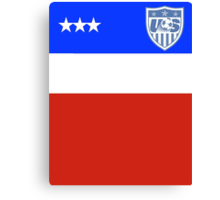 US Soccer World Cup Jersey Canvas Print
