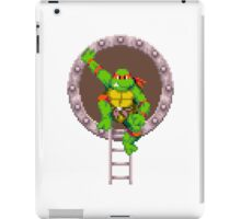 Raph hanging out iPad Case/Skin