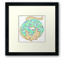 Doughcat meow Framed Print