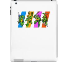 TMNT Turtles in Time Characters iPad Case/Skin