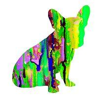 French Bulldog 2 by Watercolorsart